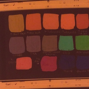 35mm color chart