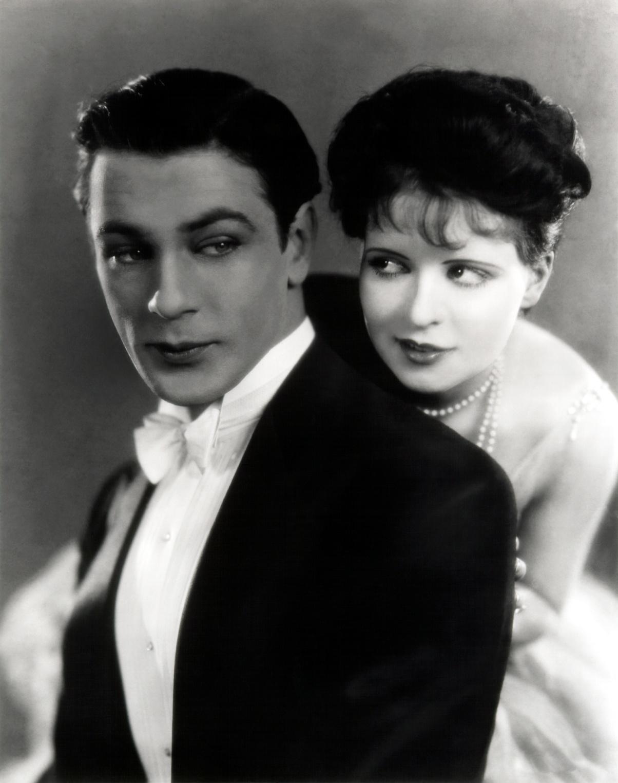 Gary Cooper & Clara Bow