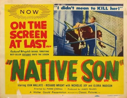 Native Son lobby card
