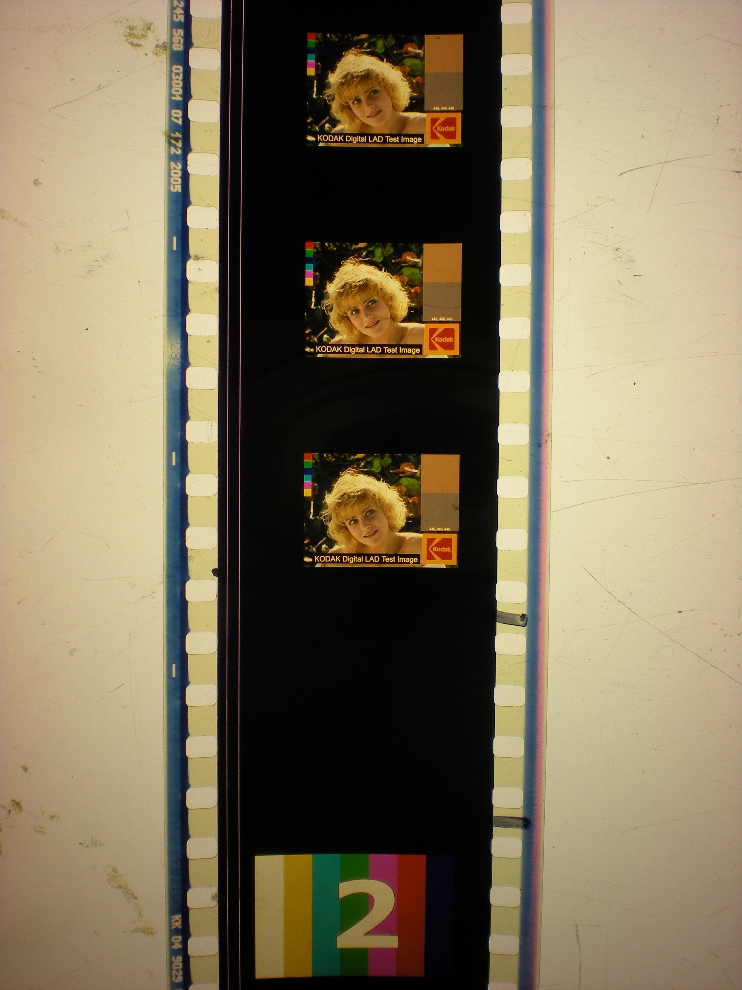 KODAK Digital LAD Test Image - tiny, for some reason!