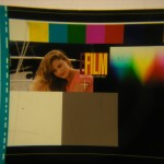 """Electron Filmworks"" - close up - In-house leader lady of Deluxe EFilm Digital Laboratories"