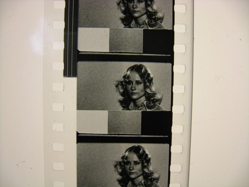 From a 35mm print of the 1957 version of 3:10 TO YUMA. Not Felicia Farr.