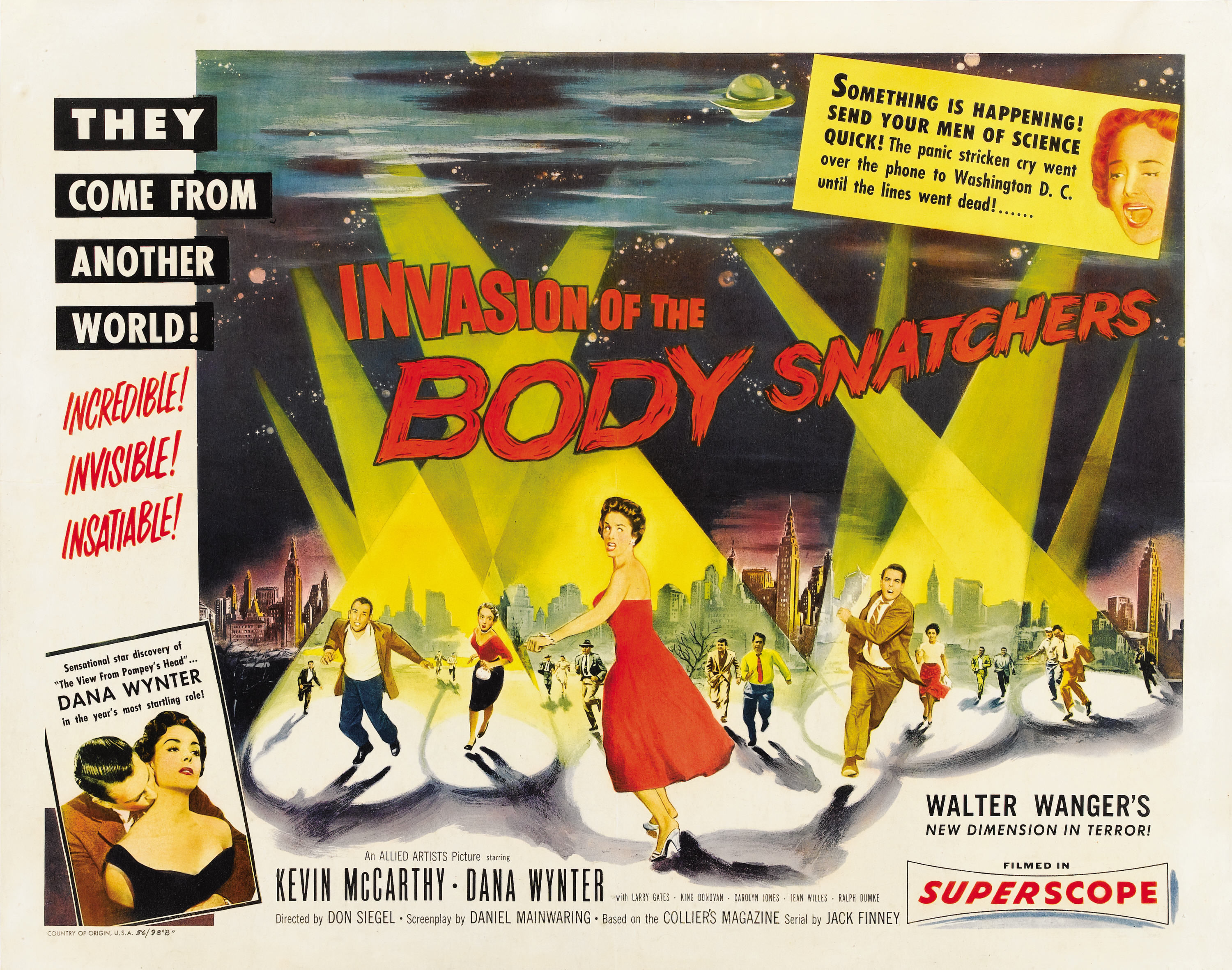 a depiction of american culture in the movie invasion of the body snatchers Pod people (also known as the body snatchers) is a nickname given to an alien species featured in the 1955 novel the body snatchers by jack finney, the 1956 film invasion of the body snatchers, the 1978 remake of the same name and the 1993 film body snatchers.