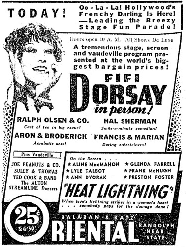 Heat Lightning Ad